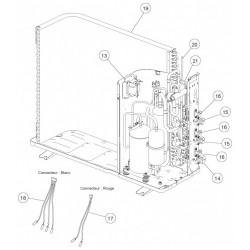 Circuit frigo entrée condenseur AOYA18LAT3 Atlantic
