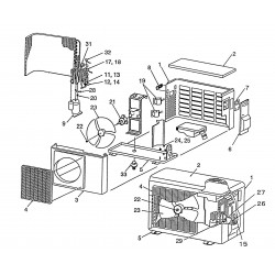Thermostat bimetal RAS13JAVP-E