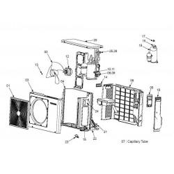 Coil 4 way assembly RAS10NAV-E