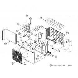 Coil 4 way assembly RAS13NAV-E