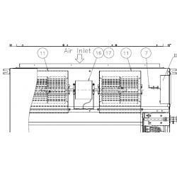 Turbine gainable HITACHI