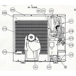 Moteur de ventilateur Hitachi