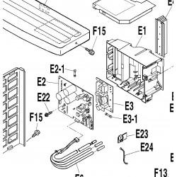 Platine électronique de contrôle Daikin
