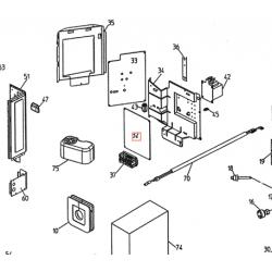PLATINE PCB DAIKIN Réf:1511109