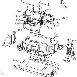 PLATINE PCB DAIKIN Réf:5006776